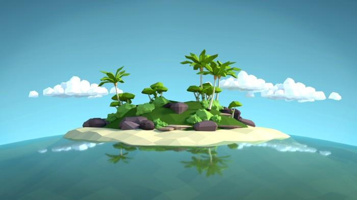 cristina-garcia-tropical-island-lowpoly-gimp